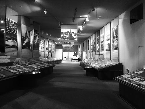 立命館大学国際平和ミュージアム 現代の戦争の展示