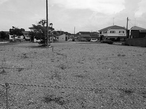 建物の解体が進む福島県南相馬市小高区。避難指示が解除されても町並みは大きく変貌している(2018年6月、筆者撮影)